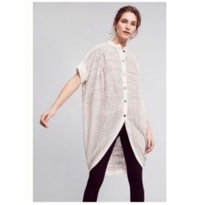Anthropologie 9H15Stcl Bay Harbor Topper Cardigan